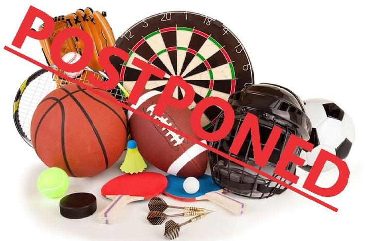 Coronavirus Sport Postponed