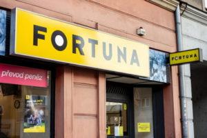 foruna czech betting shop