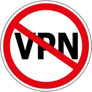 vpn not allowed