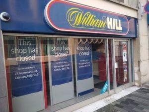 William Hill Shop Closed