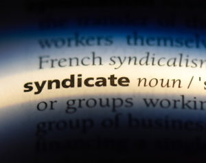 syndicate word dictionary