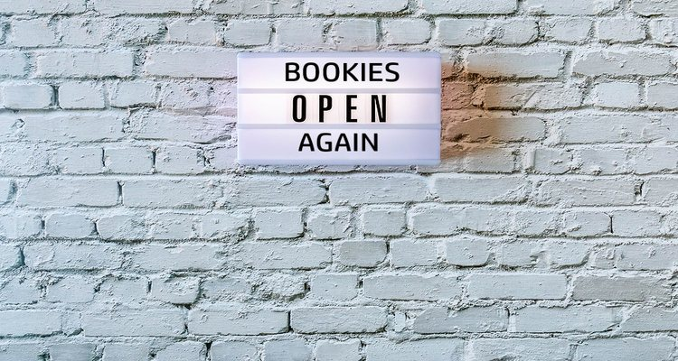 Bookmaker Open Sign