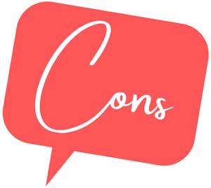 cons speech bubble