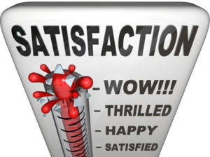 satisfaction off the scale