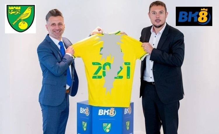 Norwich Drops Sponsor BK8 After Just 3 Days